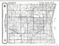 Map Image 009, Kenosha and Racine Counties 1986